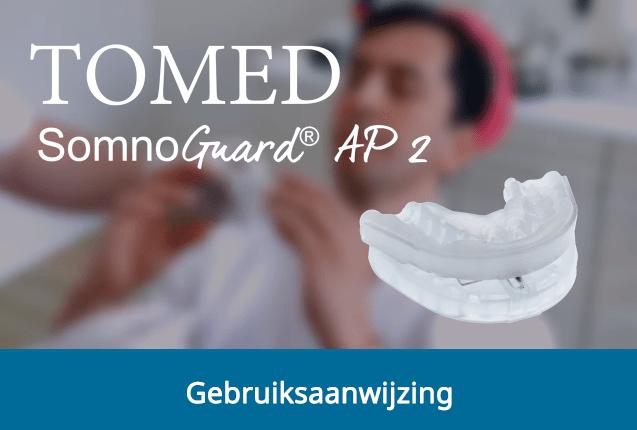 Gebruiksaanwijzing SomnoGuard AP2 snurkbeugel